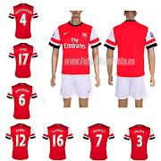 camisetas futbol baratasCamiseta Arsenal 1 Equipacion 201213