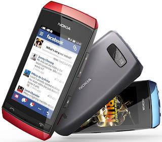 Nokia Asha 306, Harga Murah 700 Ribuan Kamera 2MP