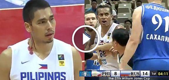Physical Intensity: Gilas Pilipinas vs. Russia (VIDEO) Jones Cup 2015