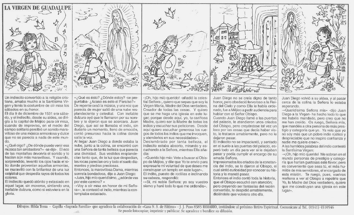 La Catequesis (El blog de Sandra): Recursos catequesis Virgen de ...