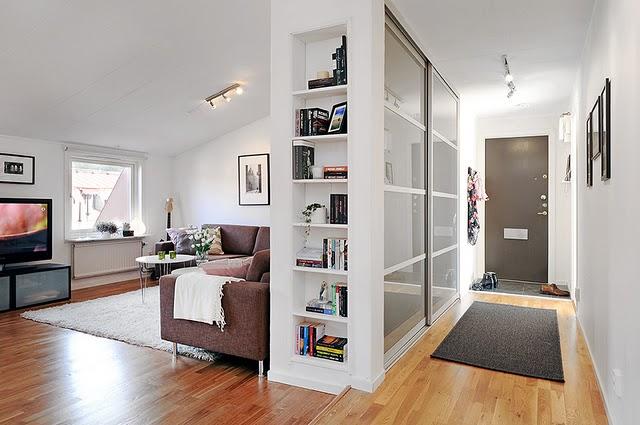 Casas minimalistas y modernas minidepartamentos minimalistas for Departamentos decorados estilo minimalista