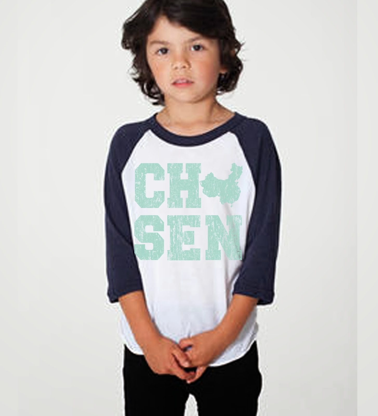 CHOSEN China Raglan