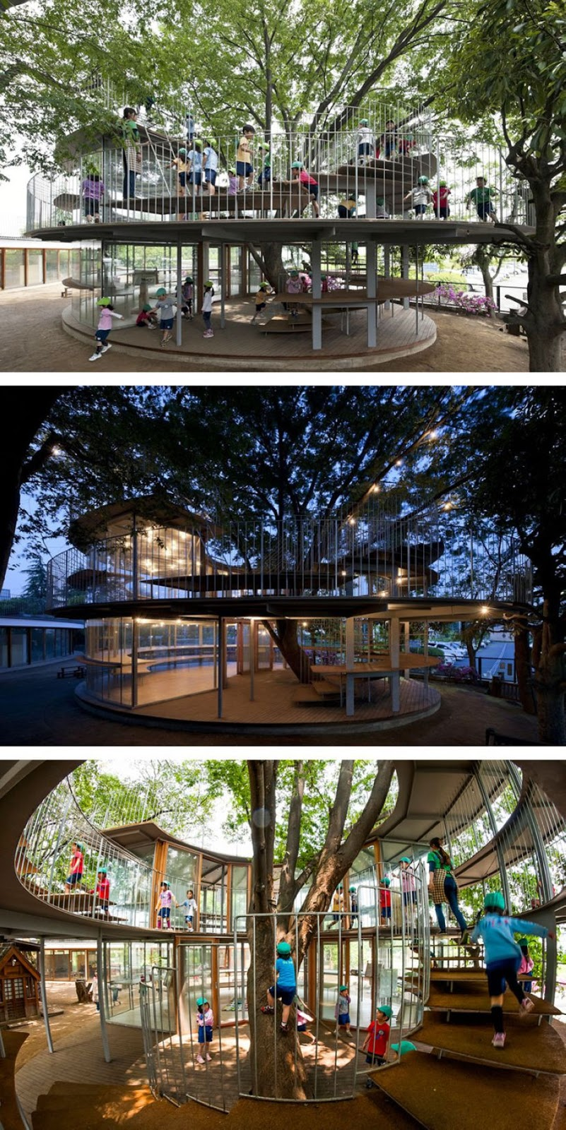 Incredible Architectural Examples of Respect for Nature (16 Pics)