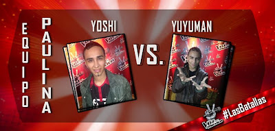 Batalla Yoshi vs Yuyuman La Voz