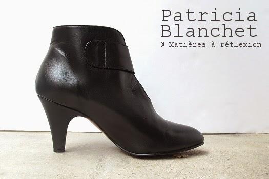 Bottines Patricia Blanchet nouvelle collection : la Rosa Bibi