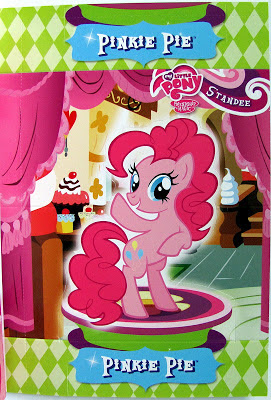 Giant Pinkie standee trading card