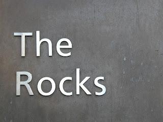 The Rocks Sydney sign