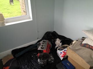 Bedroom's No Place For An Engine!