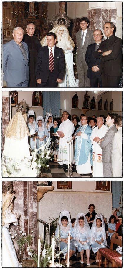 Canonicos celebrantes del Acto