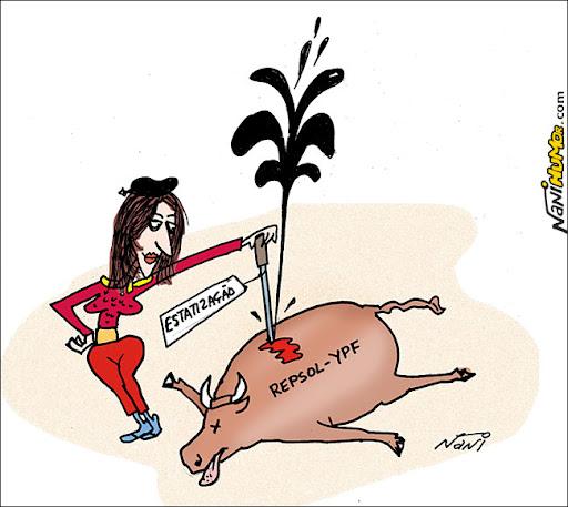 Olé! Cristina Kirchner reestatiza petroleira espanhola
