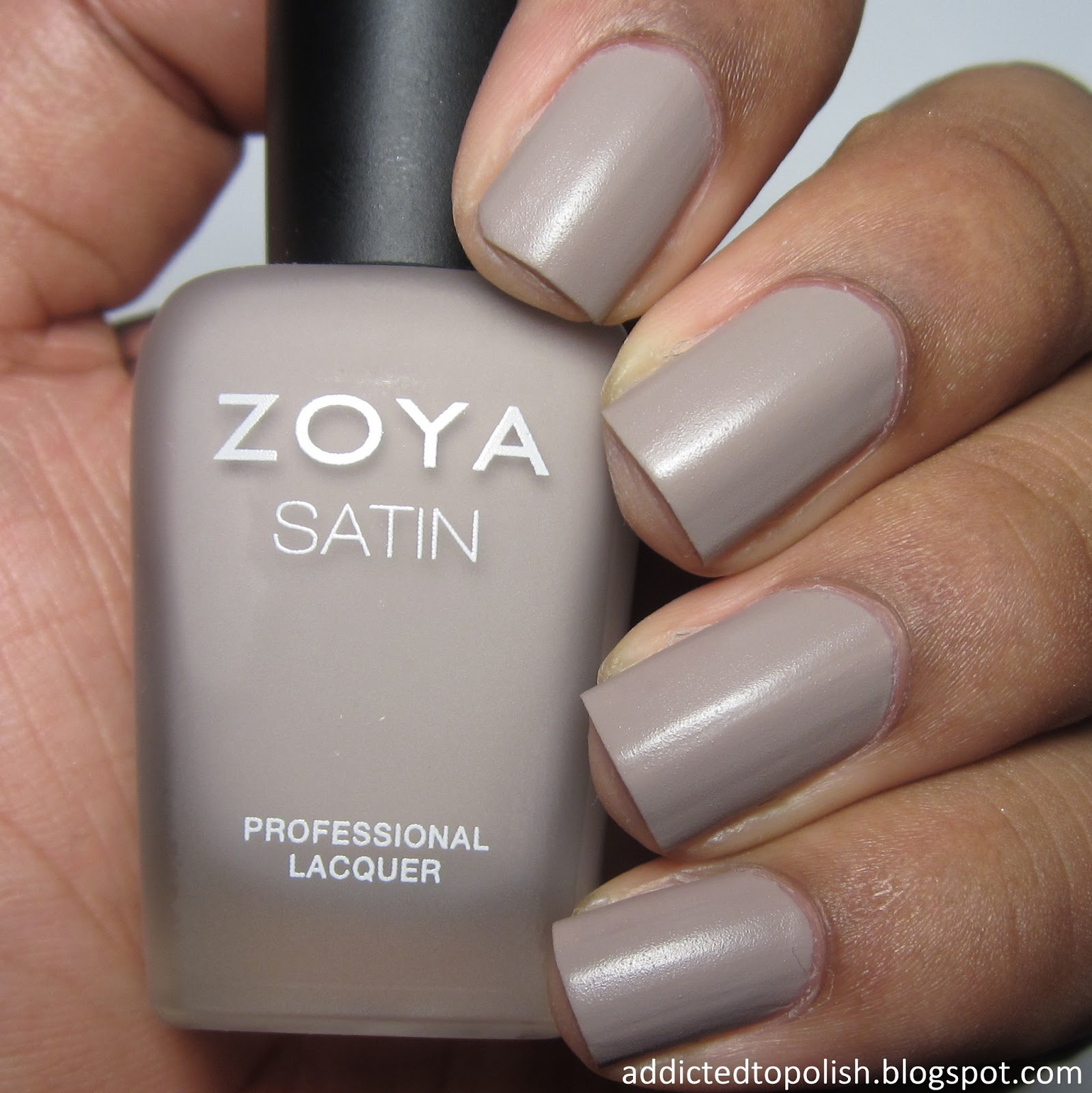 Zoya Rowan Naturel Satin