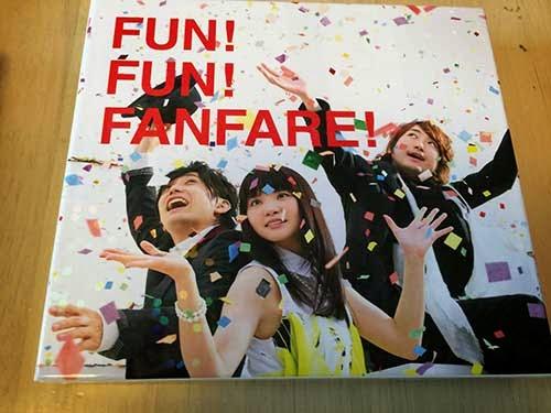 いきものがかりのニューアルバム「FUN! FUN! FANFARE!」