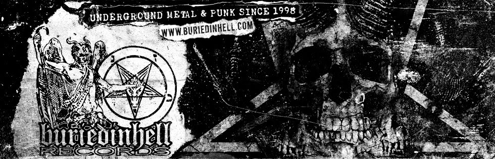 Buriedinhell Records // Official Website