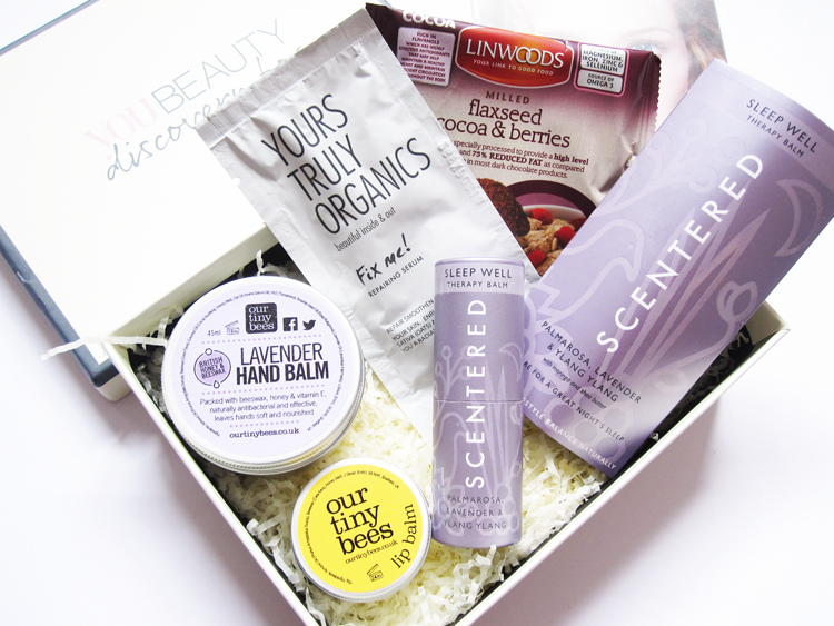 You Beauty Discovery Box - April 2015 review