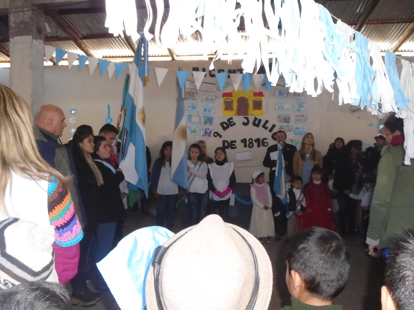 El bicentenario del 9 de julio en el club solidario