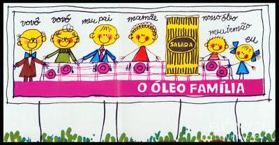 propaganda óleo Salada - Bunge 1973. 1973; os anos 70; propaganda na década de 70; Brazil in the 70s, história anos 70; Oswaldo Hernandez;