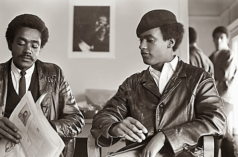 Bobby Seale And Huey Newton DSOGPRODUCTION: Huey P...