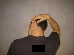 Autoelongación del músculo trapecio