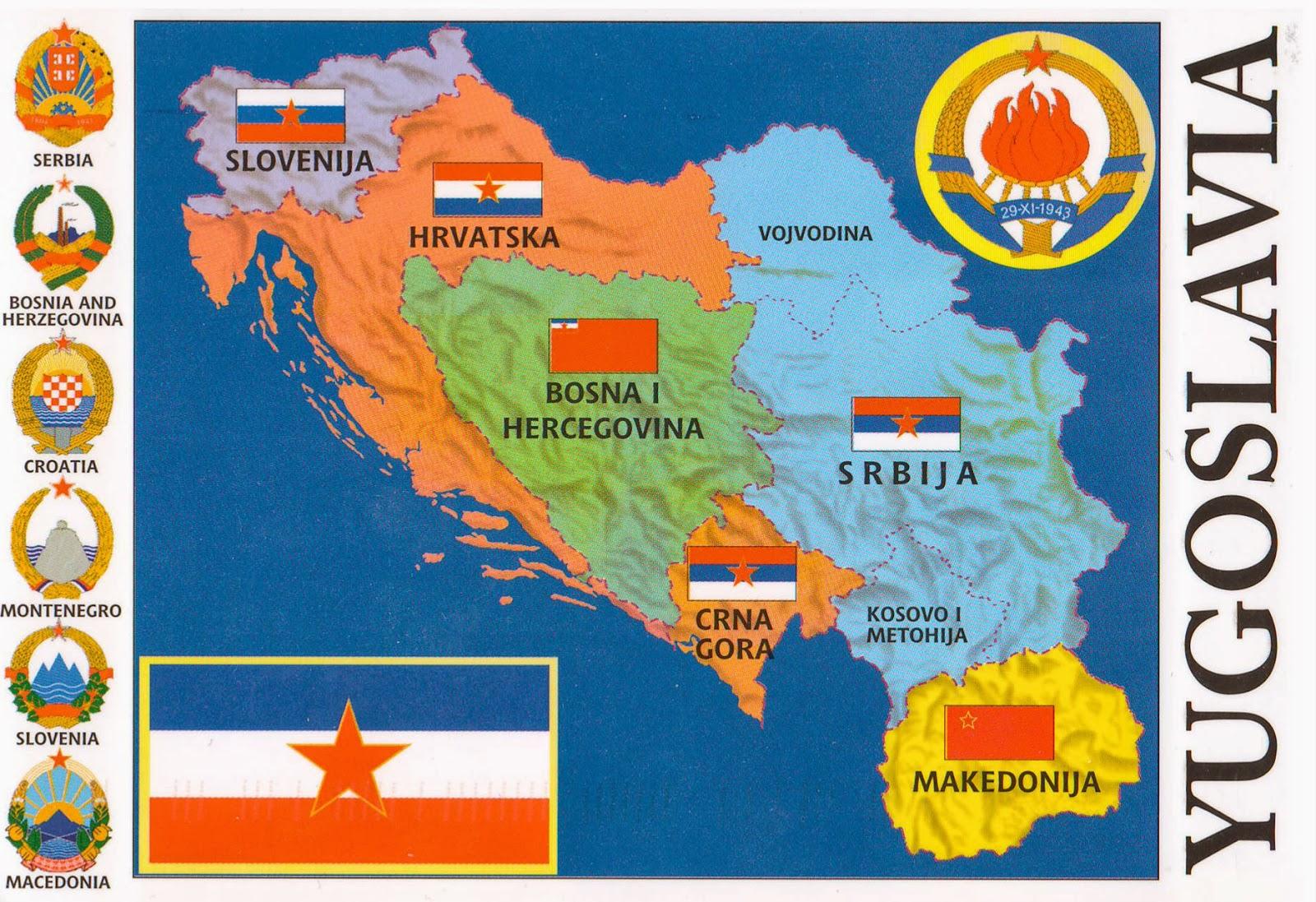 One postcard one world yugoslavia map postcard from serbia yugoslavia map postcard from serbia gumiabroncs Choice Image