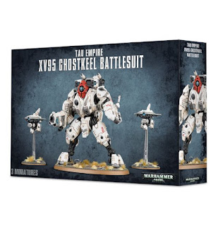 Tau XV95 Ghostkeel Battlesuit Retail Box