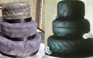 Τραγικές γαμήλιες τούρτες