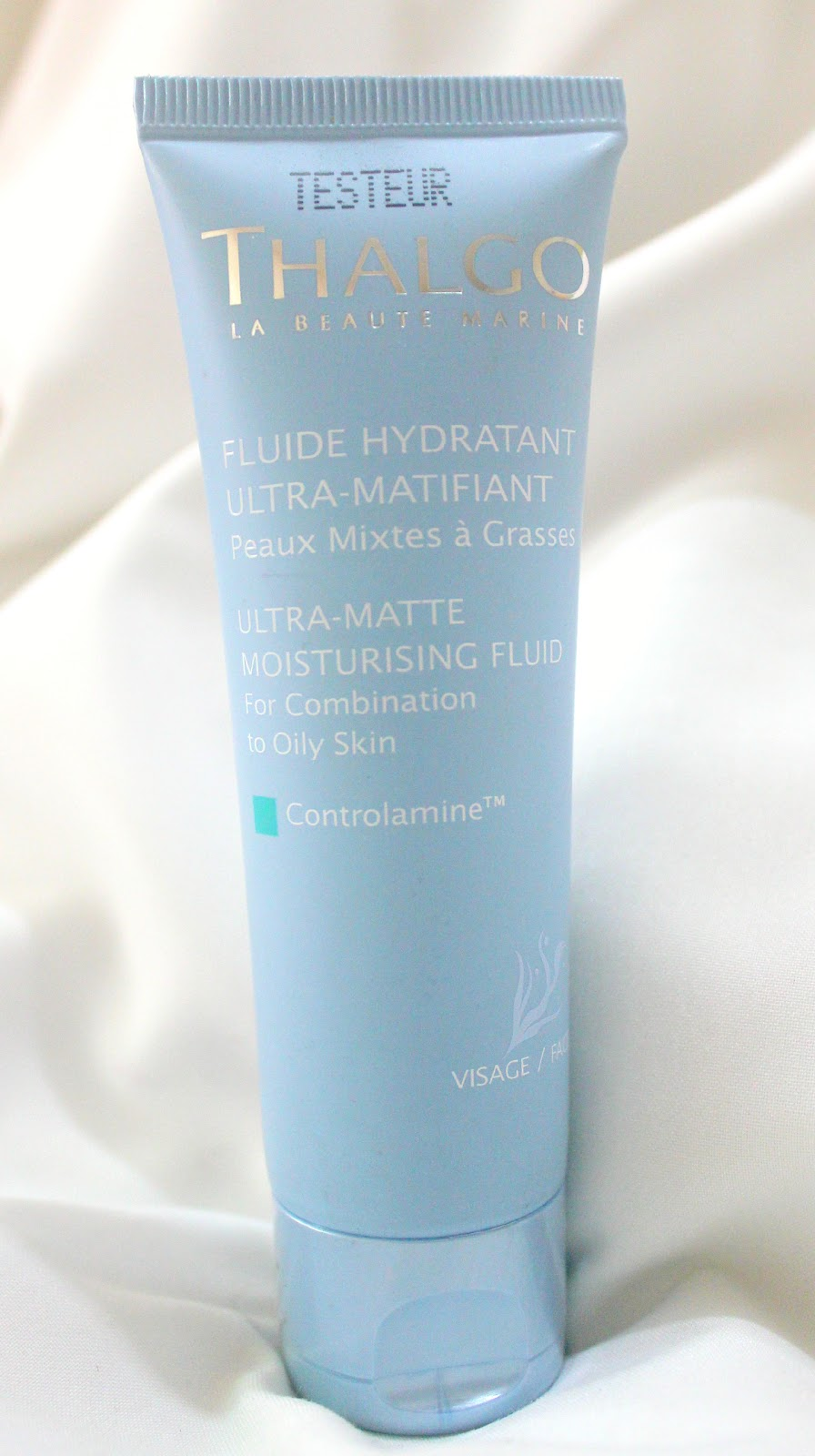 Thalgo Fluide Hydratant Ultra-Matifiant Tube Review