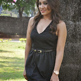Prabhjeeth Kaur Hot Photo Gallery in Short Dress at Intelligent Idiot Movie Logo Launch 54