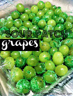 Clean Eating Grapes