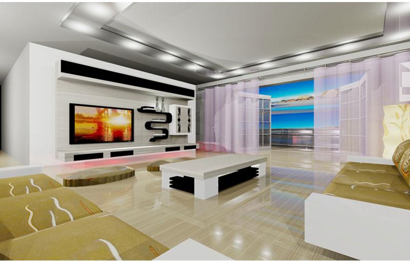 Lcd, Plazma, Tv Duvar Ünitesi Yeni Tasarımları - konsolları