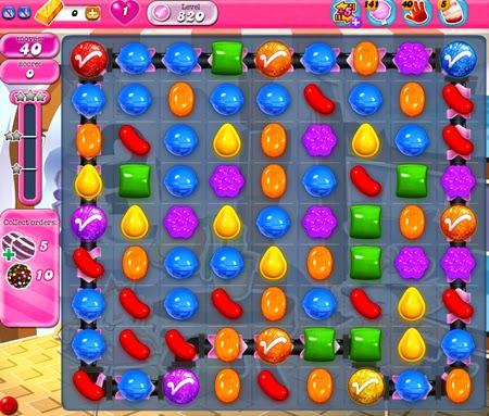 Candy Crush Saga 820