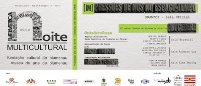 Noite Multicultural - 05 DE OUTUBRO - PARTICIPE!!!