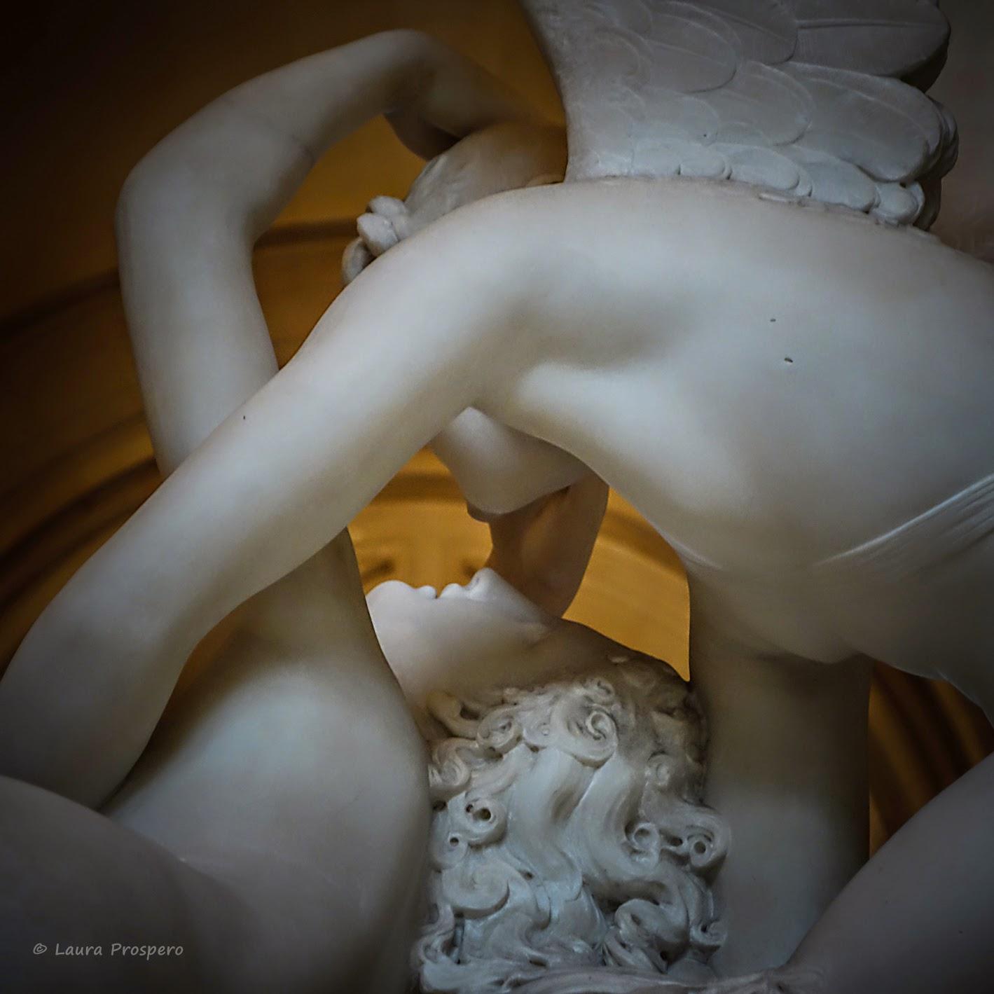 Amour et Psyché- Antonio Canova  - Musée du Louvre © Laura Prospero