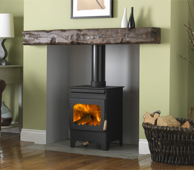 Wood burning multi fuel stoves for Most efficient small wood burning stove