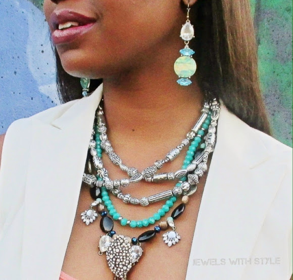 M Renee Design, Jewels with Style, statement earrings, handmade earrings, handmade jewelry, statement necklace, statement jewelry