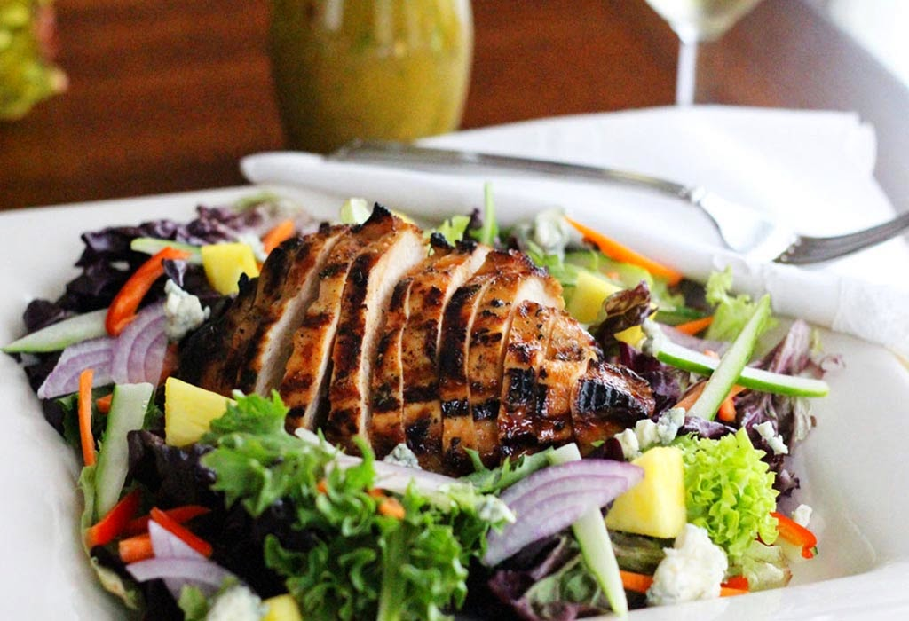 Grilled Polynesian Chicken