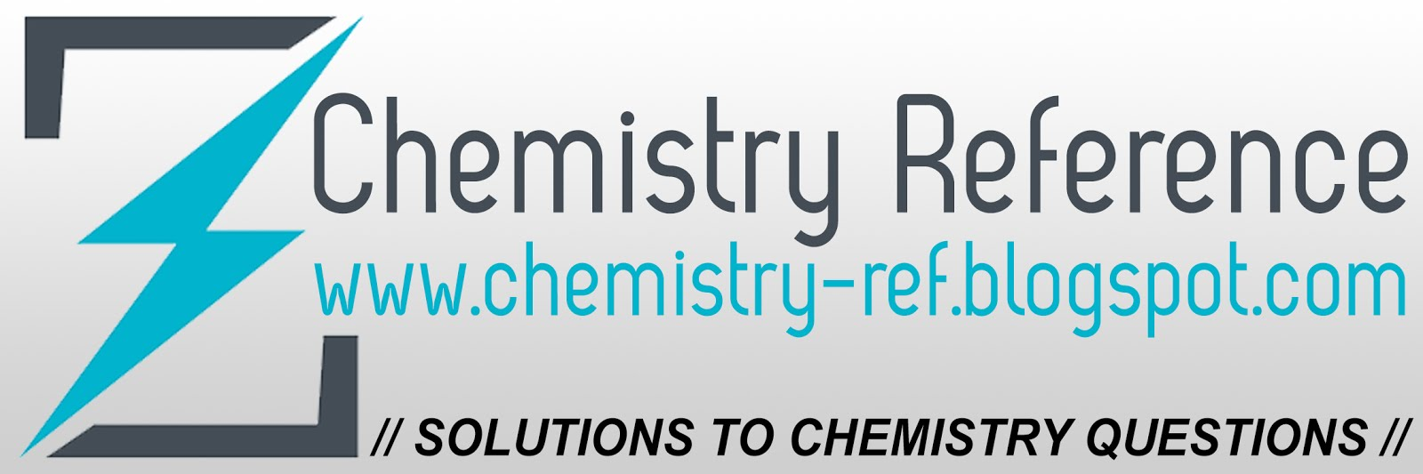 Chemistry Reference - Solutions to Questions