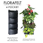 Florafelt 4-Pocket Planter