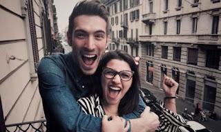 Giovanni Caccamo e Deborah Iurato