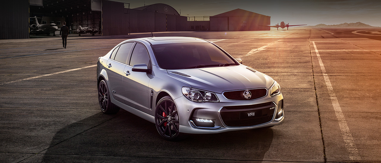 Holden Commodore - Dòng Sedan cỡ lớn hạng sang của Holden