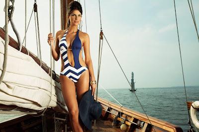 Hot Brazilian model Manoela Klein show off her sexy body for Verano High swimwear photoshoot