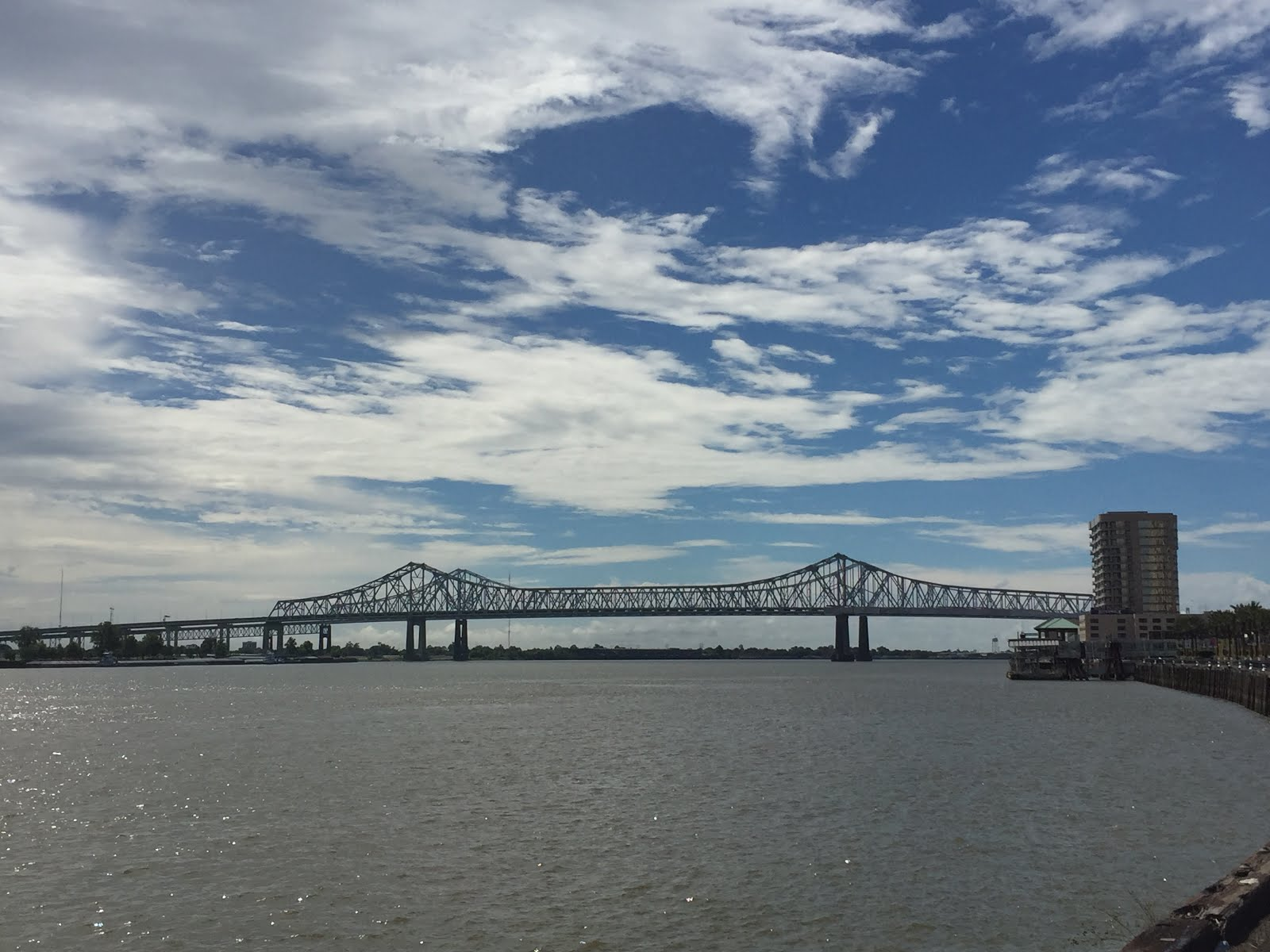 Crescent City Connection Bridge, New Orleans