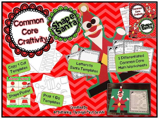 http://www.teacherspayteachers.com/Product/Common-Core-Craftivity-Shape-Santa-1000919
