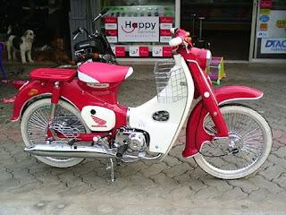 รถมอเตอร์ไซค์ Honda C
