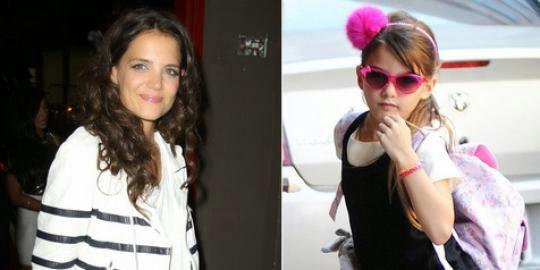 Katie Holmes vs Suri Cruise