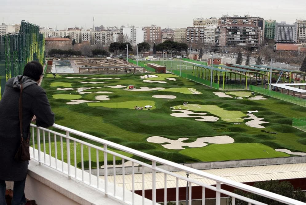 golf canal isabel ii: