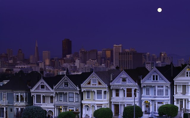 La Noche en San Francisco, California, USA