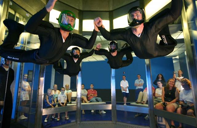 iFly Orlando Simulador Paraquedas