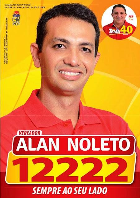 Vereador Alan Noleto