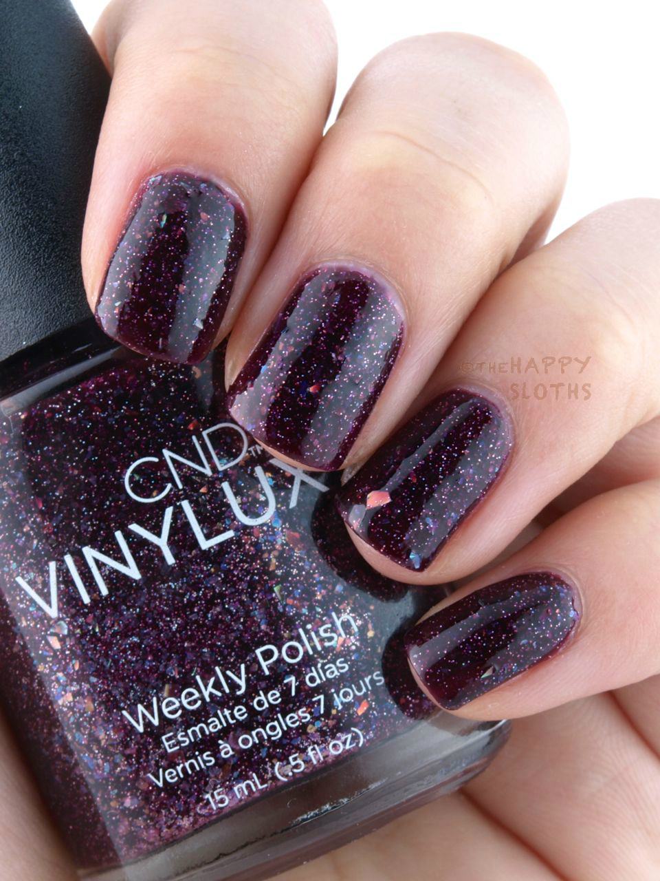 Cnd Vinylux Holiday 2015 Aurora Collection Review And