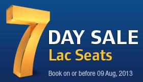 7 day sale from jet airways